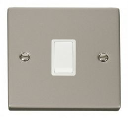 Scolmore Click Deco VPPN622WH 20A 1 Gang DP Switch - White