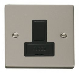 Scolmore Click Deco VPPN651BK 13A Fused Switched Connection Unit - Black