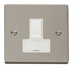 Scolmore Click Deco VPPN651WH 13A Fused Switched Connection Unit - White