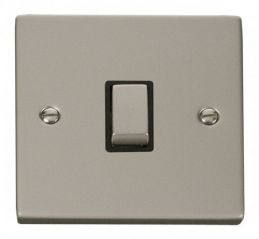 Scolmore Click Deco VPPN722BK 20A 1 Gang DP Ingot Switch - Black