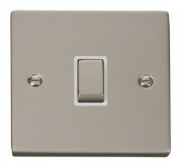 Scolmore Click Deco VPPN722WH 20A 1 Gang DP Ingot Switch - White