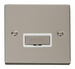 Scolmore Click Deco VPPN750WH 13A Fused Ingot Connection Unit - White