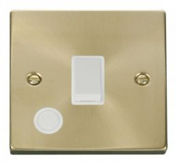 Scolmore Click Deco VPSB022WH 20A 1 Gang DP Switch With Flex Outlet - White