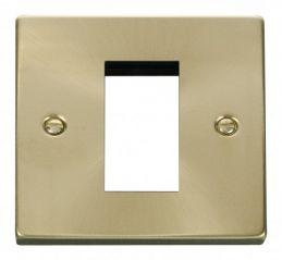 Scolmore Click Deco VPSB310 Single Plate (Single Media Module Aperture)