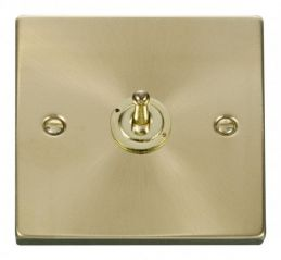 Scolmore Click Deco VPSB421 1 Gang 2 Way 10AX Toggle Switch