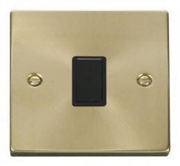 Scolmore Click Deco VPSB622BK 20A 1 Gang DP Switch - Black