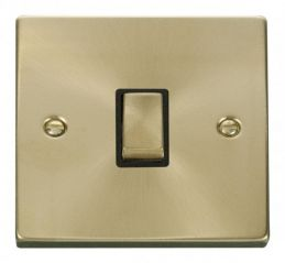 Scolmore Click Deco VPSB722BK 20A 1 Gang DP Ingot Switch - Black