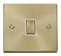 Scolmore Click Deco VPSB722WH 20A 1 Gang DP Ingot Switch - White