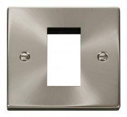 Scolmore Click Deco VPSC310 Single Plate (Single Media Module Aperture)