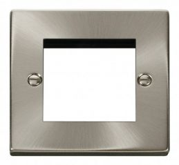 Scolmore Click Deco VPSC311 Single Plate (Twin Media Module Aperture)