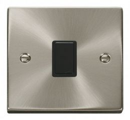 Scolmore Click Deco VPSC622BK 20A 1 Gang DP Switch - Black