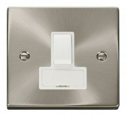 Scolmore Click Deco VPSC651WH 13A Fused Switched Connection Unit - White