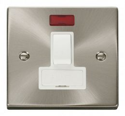 Scolmore Click Deco VPSC652WH 13A Fused Switched Connection Unit With Neon - White