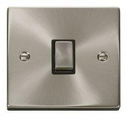 Scolmore Click Deco VPSC722BK 20A 1 Gang DP Ingot Switch - Black