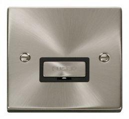 Scolmore Click Deco VPSC750BK 13A Fused Ingot Connection Unit - Black