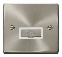 Scolmore Click Deco VPSC750WH 13A Fused Ingot Connection Unit - White