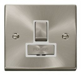 Scolmore Click Deco VPSC751WH 13A Fused Ingot Switched Connection Unit - White