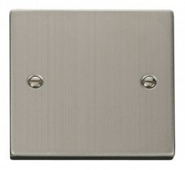 Scolmore Click Deco VPSS060 1 Gang Blank Plate