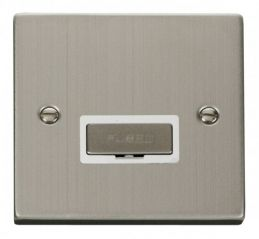 Scolmore Click Deco VPSS750WH 13A Fused Ingot Connection Unit - White
