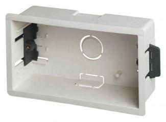 Scolmore Click WA107P 2 Gang 47mm Deep Dry Lining Box