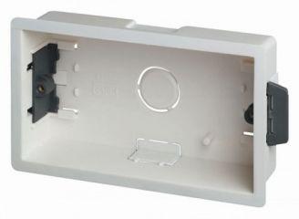 Scolmore Click WA088P 2 Gang 35mm Deep Dry Lining Box