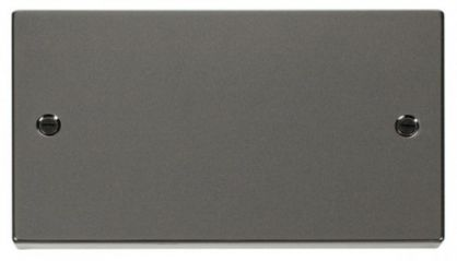 Scolmore Click Deco VPBN061 2 Gang Blank Plate