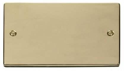 Scolmore Click Deco VPBR061 2 Gang Blank Plate