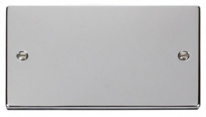 Scolmore Click Deco VPCH061 2 Gang Blank Plate