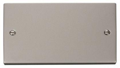 Scolmore Click Deco VPPN061 2 Gang Blank Plate