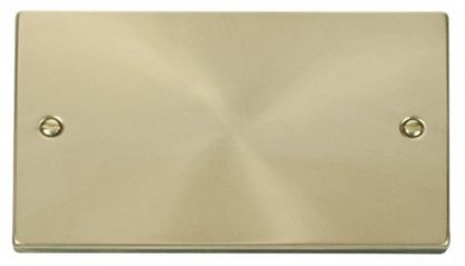 Scolmore Click Deco VPSB061 2 Gang Blank Plate