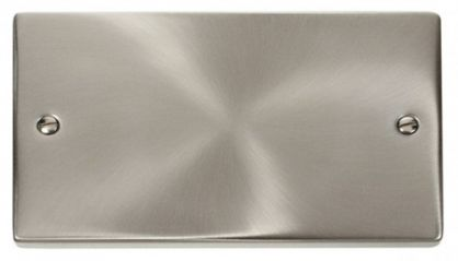 Scolmore Click Deco VPSC061 2 Gang Blank Plate