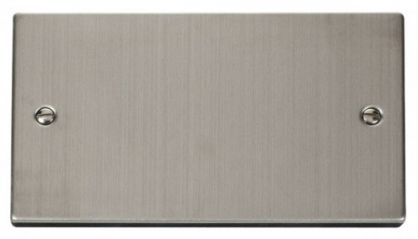 Scolmore Click Deco VPSS061 2 Gang Blank Plate