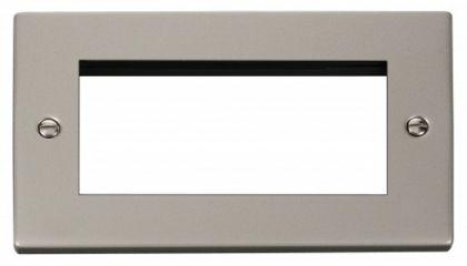 Scolmore Click Deco VPPN312 Double Plate (Quad Media Module Aperture)