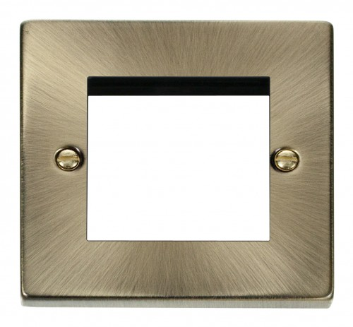 Buy VPAB Antique Brass Click Media Plates | PEC Lights