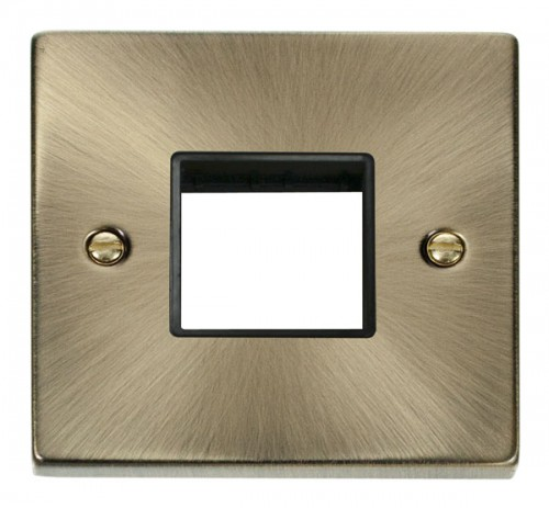 Buy VPAB Antique Brass Click Mini Grid Plates | PEC Lights