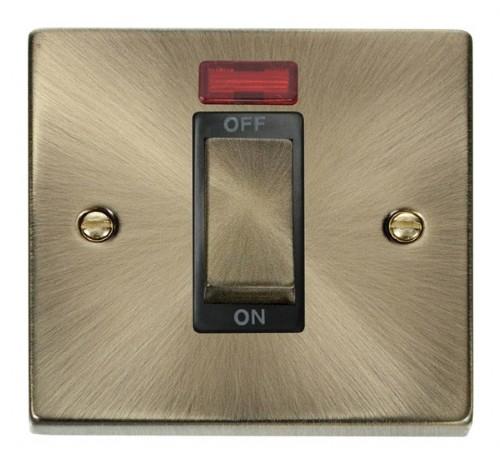 Click Deco Antique Brass VPAB Control Switches