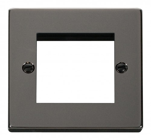 Buy VPBN Black Nickel Euro Module Media Plates | PEC Lights