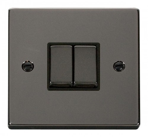Click Deco Black Nickel VPBN Switches