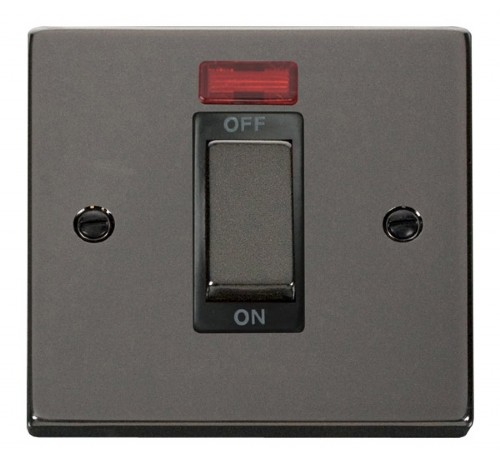 Buy VPBN Black Nickel Click 45A Switches | PEC Lights