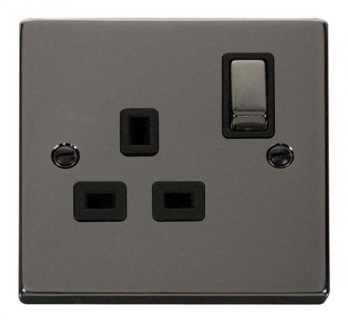 Buy VPBN Black Nickel Click Switches & Sockets  PEC Lights