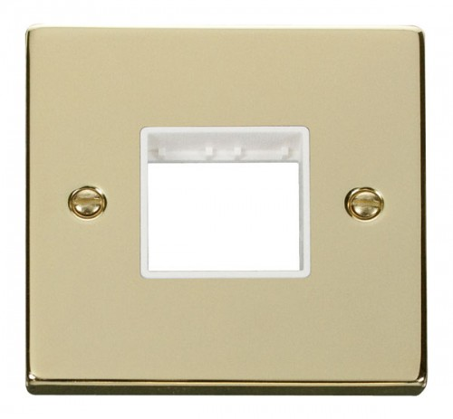 Buy VPBR Polished Brass Click Mini Grid Plates | PEC Lights