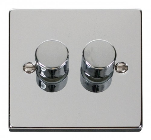 Buy VPCH Polished Chrome Click Dimmers | PEC Lights