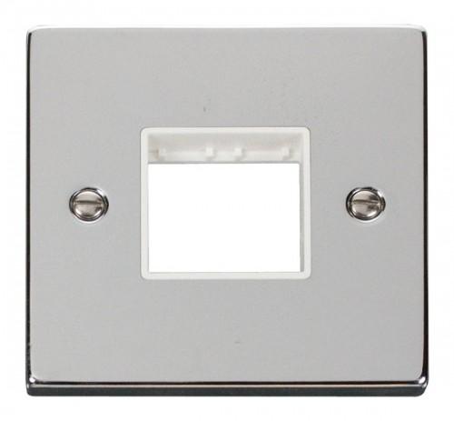 Buy VPCH Polished Chrome Click Mini Grid Plates | PEC Lights