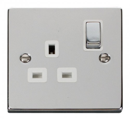 Buy VPCH Polished Chrome Click Switches & Sockets | PEC Lights