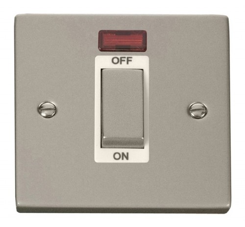 Click Deco Pearl Nickel VPPN Control Switches