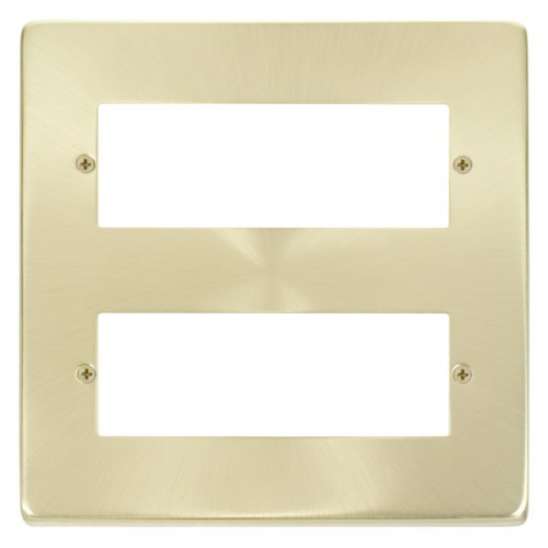 Satin Brass Plates