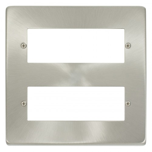 Satin Chrome Plates