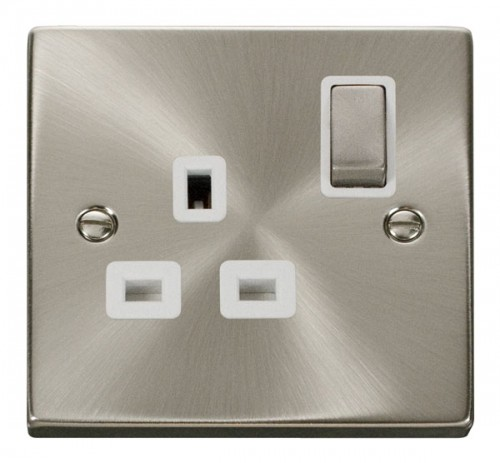 Buy VPSC Satin Chrome Click Switches & Sockets| PEC Lights