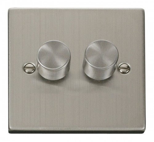 Buy VPSS Stainless Steel Click Dimmers | PEC Lights