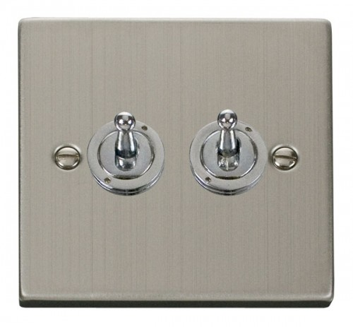 Buy VPSS Stainless Steel Click Toggle Switches | PEC Lights
